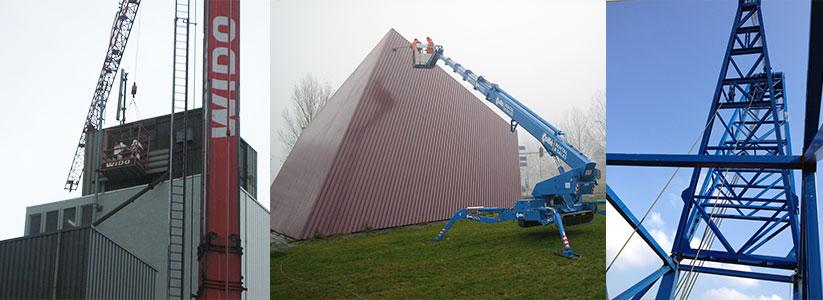 Industrieel schilderwerk - Design Renovatie - P-Design Nederland
